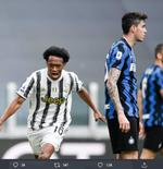 Unggul Tipis atas Inter Milan, Juan Cuadrado Sebut Juventus Menang sebagai Sebuah Tim