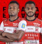 Madura United Sukses Pertahankan Dua BintangAsal Papua