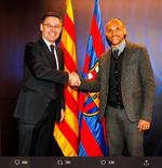 Gajinya Bakal Dipotong, Skuad Barcelona Surati Presiden Klub
