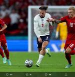 Catatan Menarik Jack Grealish pada Laga Inggris vs Denmark di Euro 2020