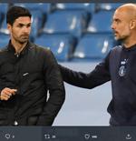 Taklukkan Arsenal, Pep Guardiola Sebut Mikel Arteta Pelatih Cerdas