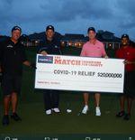 Putra Tiger Woods Memenangi Turnamen Golf Anak-anak, sang Ayah Jadi Caddy-nya