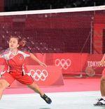 Hasil Bulu Tangkis Olimpiade Tokyo 2020: Praveen Jordan/Melati Daeva Oktavianti Terhenti di 8 Besar