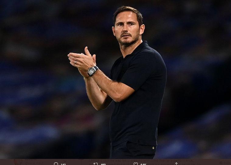 Frank Lampard saat masih menangani Chelsea.
