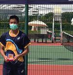 Petenis Muda Nathan Anthony Barki Sabet Gelar di Singapura
