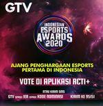 Tinggal Empat Hari Lagi, Ini Daftar Pengisi Acara Indonesian Esports Awards 2020
