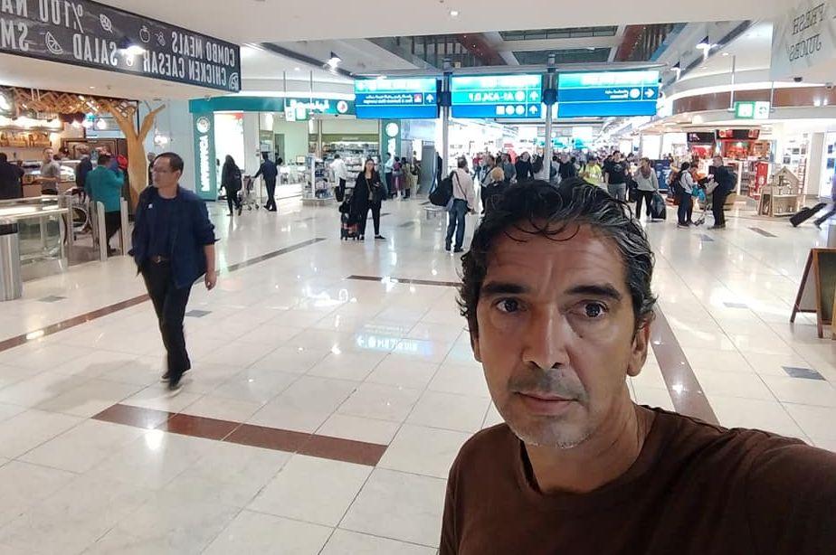 Pelatih asal Brasil yang juga eks-pemain PSM Makassar dan Persija, Luciano Leandro, saat di Indonesia pada Januari 2019. Luciano pernah membawa Persija menjuarai turnamen di Brunei.