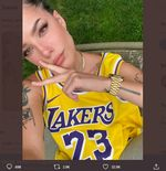 Ketika Cinta Halsey Menjadi Jimat Keberuntungan LA Lakers