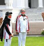Presiden Joko Widodo Resmi Lepas Atlet ke Olimpiade Tokyo