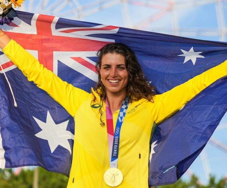 Atlet kayak asal Australia, Jess Fox mendapat medali perunggu di Olimpiade Tokyo 2020.