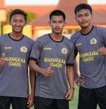 Tiga Pemain Muda Bhayangkara FC Dapat Beasiswa Sekolah Kepolisian