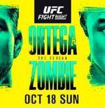 UFC Fight Night: Ortega vs Korean Zombie Siap Digelar Akhir Pekan Nanti