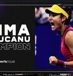 US Open 2021:  5 Fakta Emma Raducanu, Pemain Kualifikasi Pertama yang Juara Grand Slam