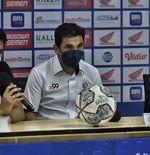 Pelatih Arema FC Ungkap Kunci Keberhasilan Timnya Imbangi PSM dengan 10 Pemain