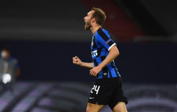 Gelandang Inter Milan, Christian Eriksen.