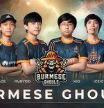 Runner-up M2 World Championship, Burmese Ghouls, Resmi Bubar
