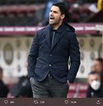 Arsenal Kalahkan Chelsea, Mikel Arteta Justru Kesal