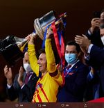 VIDEO: Lionel Messi Bangga Bisa Juara dan Jadi Kapten Barcelona