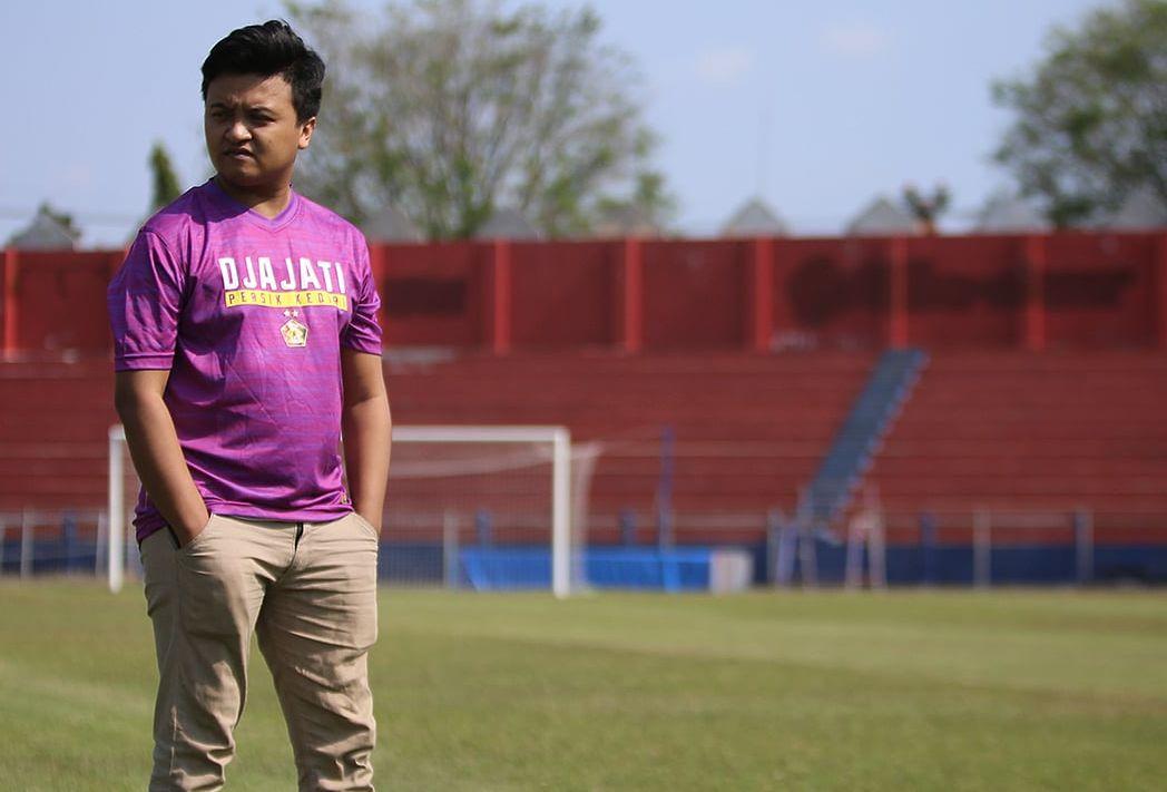 Muhammad Lucky Maarif, altet e-sport yang resmi diperkenalkan sebagai pemain persik untuk Liga 1 Indonesia Football e-League (IFeL) pada 22 Agustus 2020.