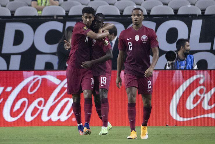 Lolos Semifinal Piala Emas CONCACAF 2021, Qatar Selangkah Lagi Samai Brasil