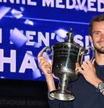 US Open 2021: Juara usai Kalahkan Novak Djokovic, Ini 5 Fakta Daniil Medvedev