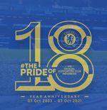 Perayaan 18 tahun CISC, Komunitas Fans Klub Resmi Chelsea di Indonesia
