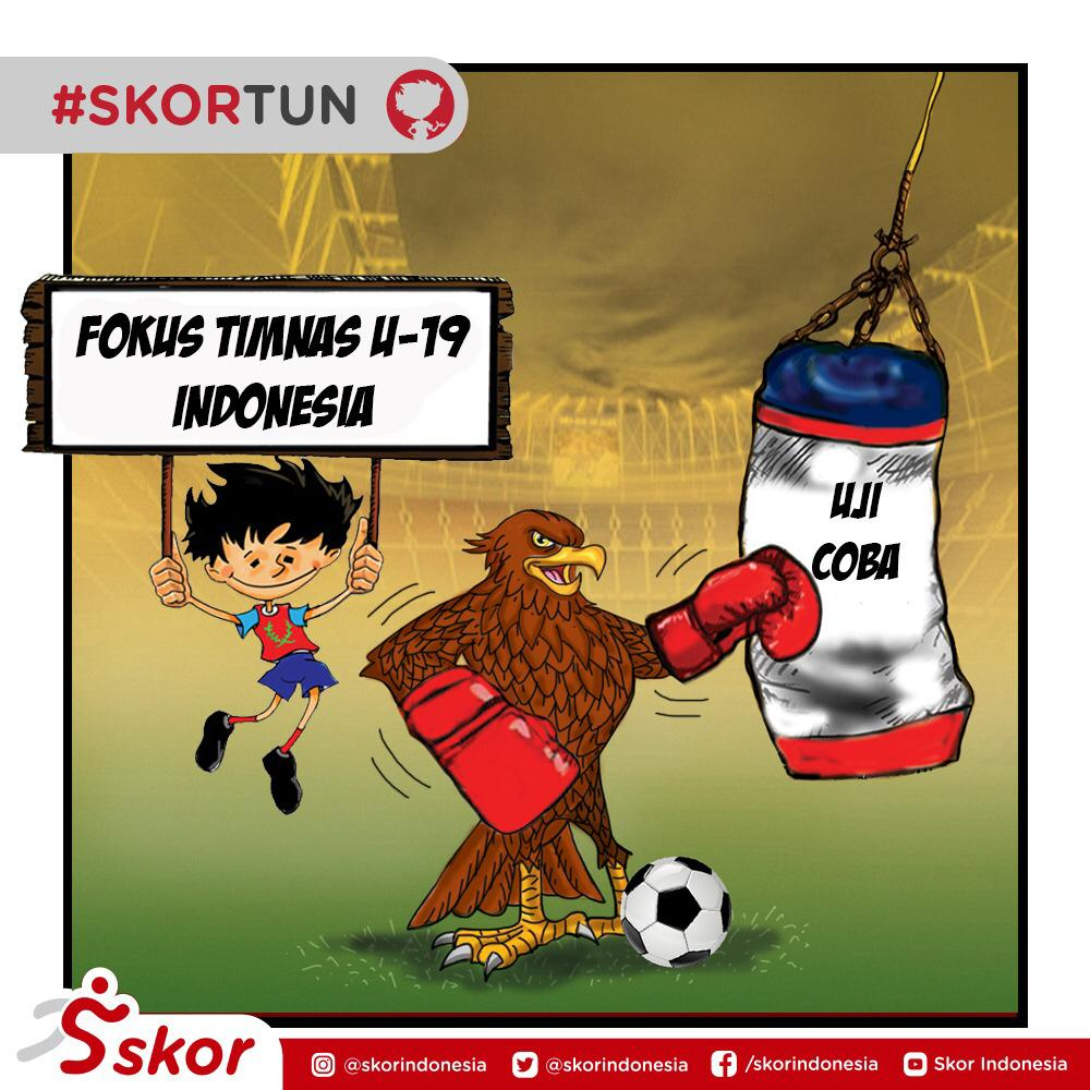 Skortun, timnas U-19 Indonesia masih melanjutkan training camp di Kroasia.