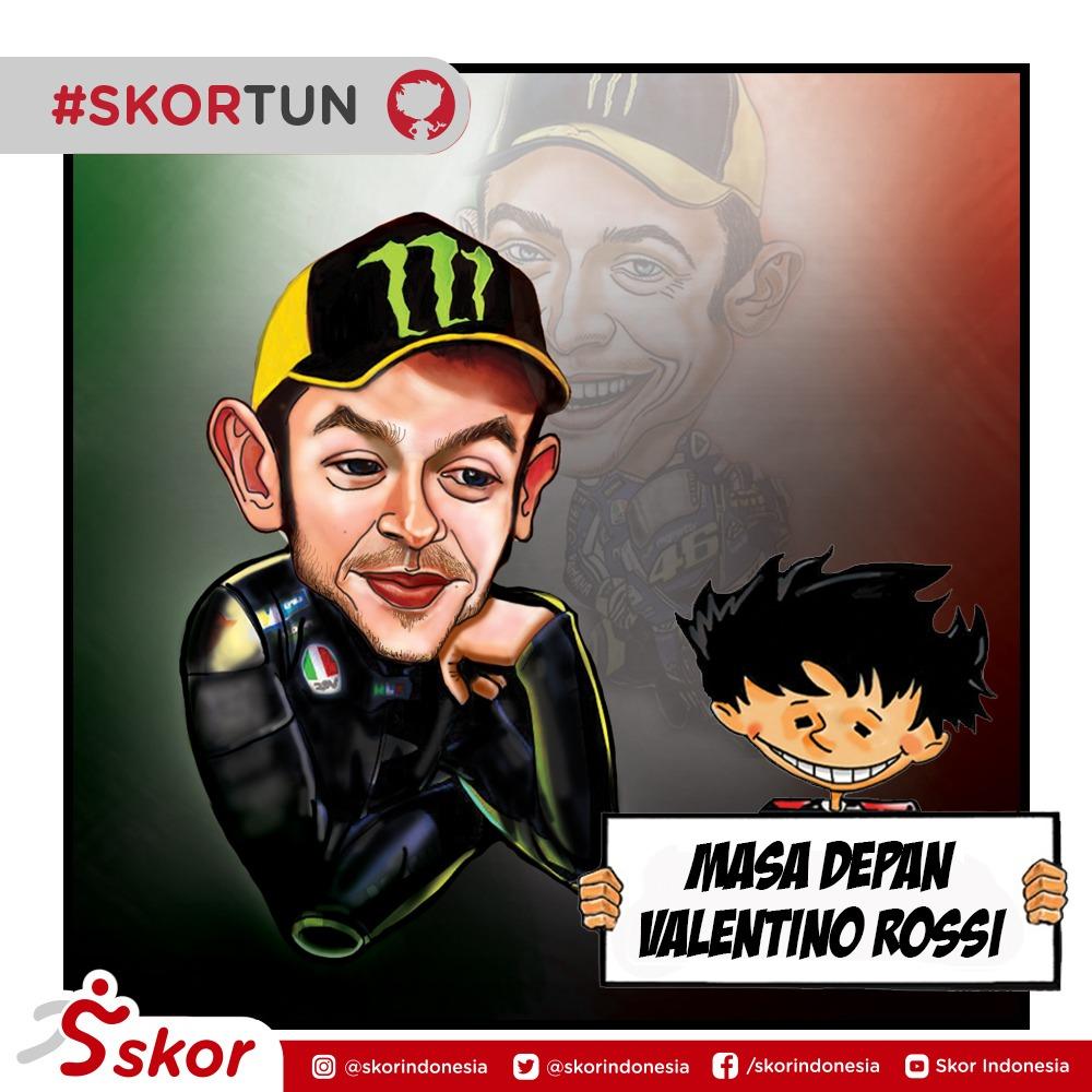 Skortun, Valentino Rossi masih menjadi kesayangan para penggemar MotoGP.