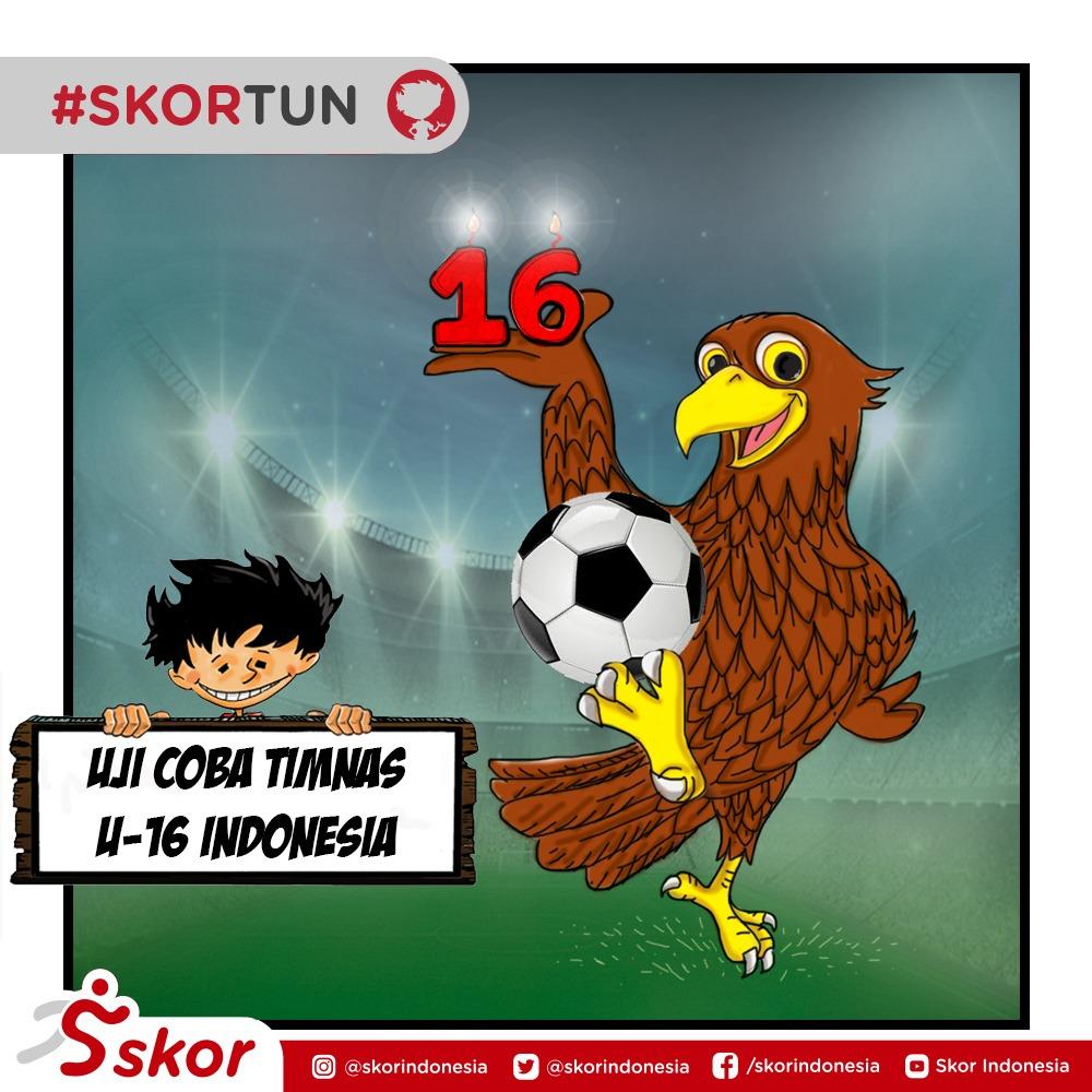 Skortun, timnas U-16 Indonesia menjalani uji coba ke UEA.